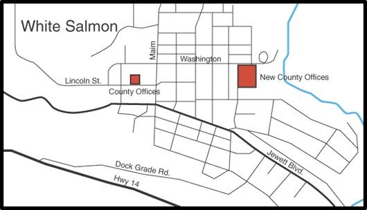 White Salmon map