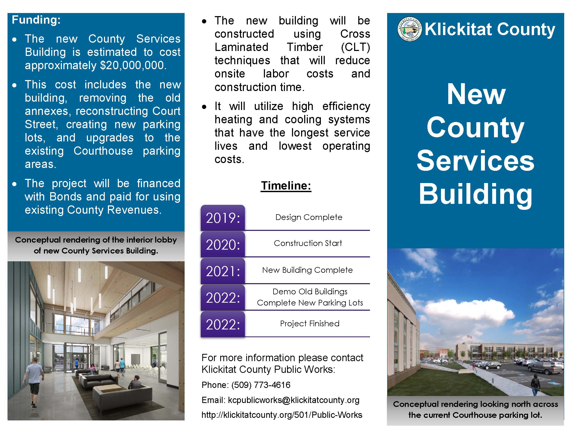 New County Services Building Page 1